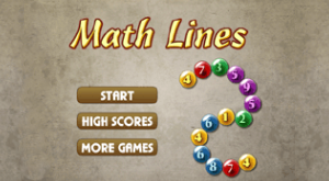 Math Lines Game