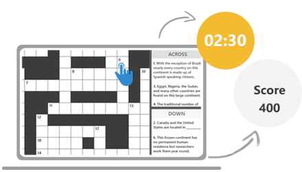 ProProfs Crossword Game Instructions