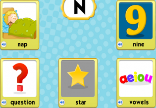 Nap Nine Question Star Vowels