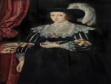 Anne Fanshawe (1607–1628) By Marcus Gheeraerts The Younger