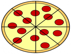 Fractions Pizza Puzzle