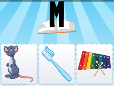 M Mouse Toothbrush Xylophone