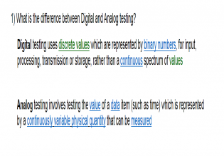 Diff Between Analog And Digital Testing