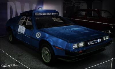 Doctor Who police car
