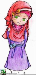 Hijab Girl Jigsaw Puzzle