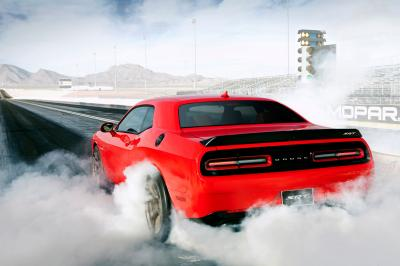 Challenger Burning Out