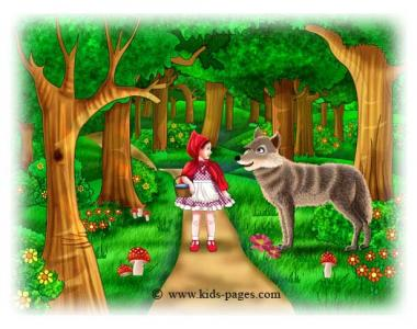 Ridding hood puzzle