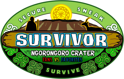 Survivor: Ngorongoro Crater - Fans vs Favorites Official Logo
