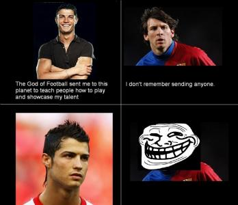 Messi Vs Ronaldo Joke