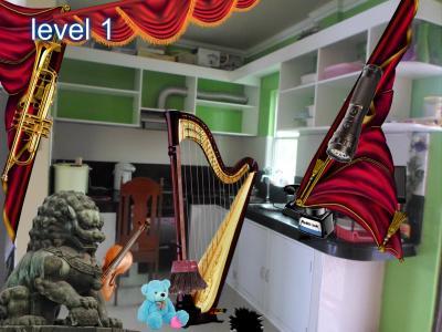 Music Room Hidden Object