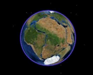 Pangea Google Earth
