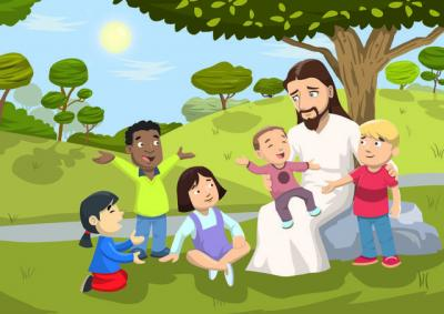 Jesus Love For Children