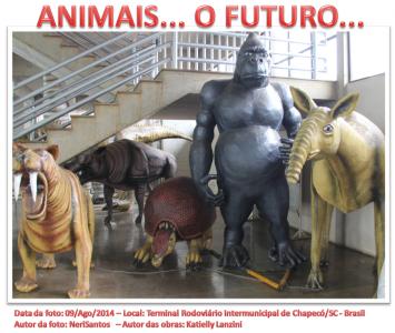 Animais... o futuro....