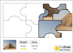 ProProfs Jigsaw Puzzle