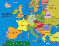 Puzzle Benua Eropa