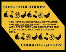 Puzzle Relay - Final Puzzle