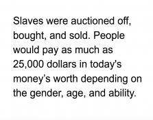 Slave Information Puzzle