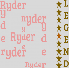 Ryder\'s Puzzle