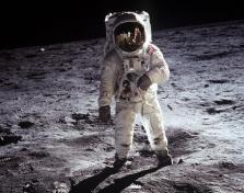 Astronaut Sliding Puzzle