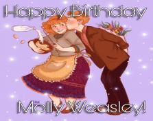 Happy Birthday Molly