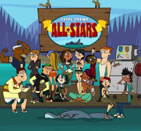 Total Drama All Stars Sliding Puzzle