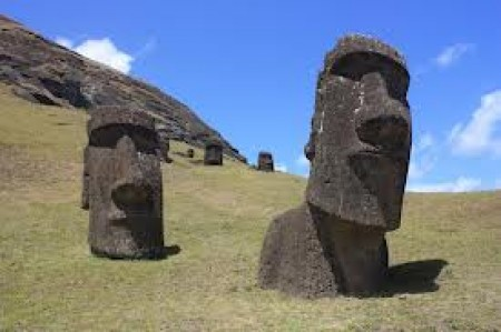 Easter Island Slide Puzzle.