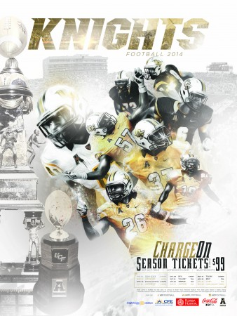 Ucf Football Poster Unveil