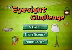 Eyesight Challenge Game