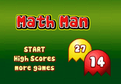Math Man Game