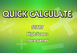 Quick Calculate Game