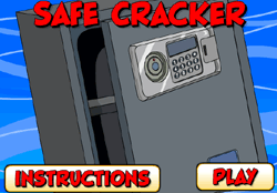 Safe Cracker Game