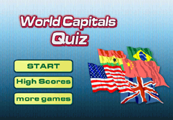 World Capitals Quiz Game