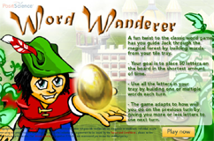 Word Wanderer Game