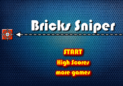 Bricks Sniper Game