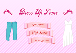 Dress Up Time Game