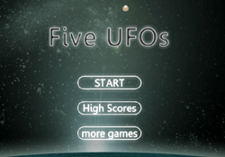 Fiveufos Game