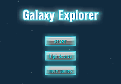 galaxy explore Game
