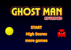 Ghost Man Advanced Game