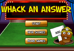 Whackanswer Game