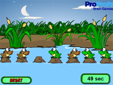 Leap Froggies Game