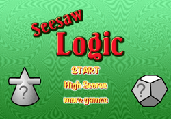 Seesaw Logic Game