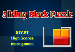 Sliding Block Puzzle Game