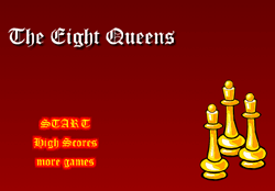 The Eight Queens Game