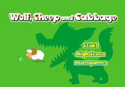 Wolf, Sheep and Cabbage Game